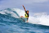 Roxy Pro Gold Coast: Mar 4 - Lakey Peterson Photographic Print by Simon Williams
