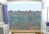 Where's Wally Deep Sea Wallpaper Mural Wallpaper Mural