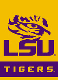 NCAA Louisiana State Tigers 2-Sided Garden Flag Flag