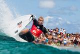 2014 Quiksilver Pro Gold Coast: Mar 2 - Mick Fanning Fotografisk tryk af Kelly Cestari
