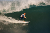 2012 Quiksilver Pro France: Oct 5 - Kelly Slater Photographic Print by Kelly Cestari