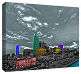 Nashville Gallery Wrapped Canvas