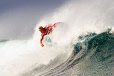 2010 Billabong Pro: Sep 1 - Mick Fanning Photographic Print by Steve Robertson