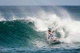 2013 Reef Hawaiian Pro: Nov 16 - Travis Logie Photographic Print by Kelly Cestari