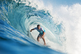 2013 Billabong Pipe Masters: Dec 8 - Kierren Perrow Photographic Print by Kelly Cestari