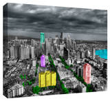 Seattle Stretched Canvas Print