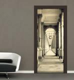 Kolonnade Türposter Fototapete Wandgemälde