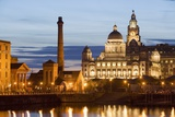 Albert Dock and Port of Liverpool Building Photographic Print by Massimo Borchi