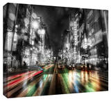 Tokyo Night Gallery Wrapped Canvas