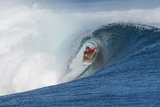 2013 Volcom Fiji Pro: Jun 4 - Taj Burrow Photographic Print by Steve Robertson