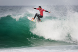 2013 Rip Curl Pro: Oct 14 - Michel Bourez Photographic Print by Kelly Cestari