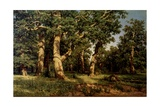 Shishkin I. Painting Giclee Print