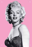Marilyn Pink Tin Sign Tin Sign