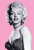 Marilyn Pink Tin Sign Tin Sign