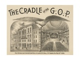 The Cradle of the G.O.P. – the First Republican Convention Giclee Print