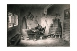 Martin Luther Writing at Wartburg Castle, 1521-1522 Giclee Print