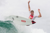 2012 Quiksilver Pro Presented By Land Rover: Mar 4 - Taj Burrow Photographic Print by Steve Robertson