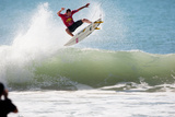 2013 Rip Curl Pro: Oct 9 - CJ Hobgood Photographic Print by Kelly Cestari