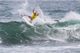 2013 Reef Hawaiian Pro: Nov 14 - Tanner Hendrickson Photographic Print by Sean Rowland