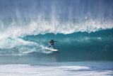 2013 Billabong Pipe Masters: Dec 14 - Julian Wilson Photographic Print by Kirstin Scholtz