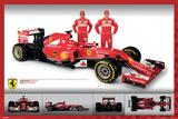 Ferrari F1 - Alonso and Räikkönen Photo