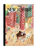 Tiny Dancers - The New Yorker Cover, March 31, 2014 Regular Giclee Print by Jean-Jacques Sempé