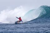 2013 Volcom Fiji Pro: Jun 6 - Adriano De Souza Photographic Print by Kirstin Scholtz