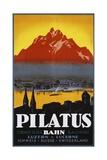 Pilatus Poster Giclée-tryk