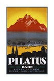 Pilatus Poster Giclee Print