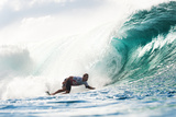 2013 Billabong Pipe Masters: Dec 8 - Travis Logie Photographic Print by Kelly Cestari