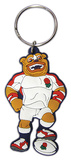 England Rugby - Ruckley Rubber Keychain Keychain