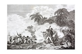The Death of Captain James Cook, 1728 - 1779 Giclee Print