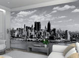 New York taustakuvan Mural Tapettijuliste