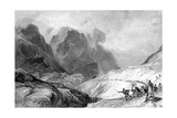 The Eastern Pass of Glencoe Giclee Print