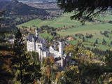Neuschwanstein Castle, West of Fussen, Bavaria, Germany, Europe Photographic Print by Nigel Blythe