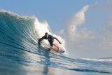 2010 Billabong Pipeline Masters: Dec 15 - Joel Parkinson Photographic Print by Kelly Cestari