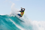 2014 Quiksilver Pro Gold Coast: Mar 2 - Jeremy Flores Photographic Print by Kelly Cestari