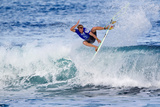 2013 Reef Hawaiian Pro: Nov 16 - Tanner Gudauskas Photographic Print by Sean Rowland
