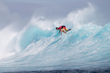 2012 Volcom Fiji Pro: Jun 10 - Joel Parkinson Photographic Print by Kirstin Scholtz