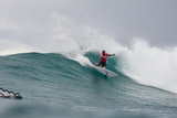2013 Vans World Cup: Dec 1 - Raoni Monteiro Photographic Print by Kelly Cestari