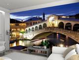 Venice Rialto Bridge Wallpaper Mural Wallpaper Mural