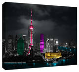 Shanghai Stretched Canvas Print
