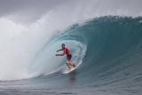 2013 Volcom Fiji Pro: Jun 6 - Joel Parkinson Photographic Print by Kirstin Scholtz