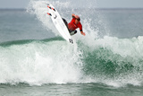 2013 Hurley Pro: Sep 18 - Taj Burrow Photographic Print by Sean Rowland