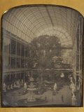 The Crystal Palace at Hyde Park, London by John Jabez Edwin Mayall Photographic Print by John Jabez Edwin Mayall