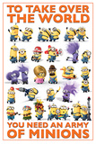 Despicable Me 2 - Take Over the World Stampe