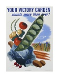 Your Victory Garden Poster Giclee Print