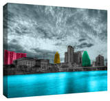 Austin Stretched Canvas Print