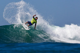 2012 Hurley Pro: Sep 19 - Joel Parkinson Photographic Print by Sean Rowland