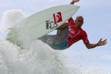 2012 Quiksilver Pro Presented By Land Rover: Feb 27 - Kelly Slater Photographic Print by Steve Robertson